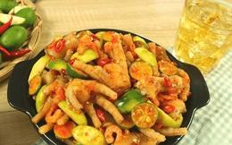 Chân gà sốt Thái chua ngọt cay cay, ngon bất bại, cả nhà ăn mãi không chán