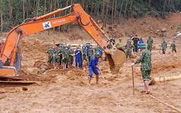 19h20: Đã tìm thấy toàn bộ 13 thi thể cán bộ, chiến sĩ bị vùi lấp tại Tiểu khu 67