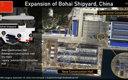 Điều khác lạ đang diễn ra tại xưởng đóng tàu ngầm hạt nhân duy nhất của Trung Quốc