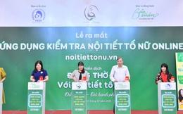 Hội Phụ sản Việt Nam ra mắt Ứng dụng tự kiểm tra nội tiết tố nữ đầu tiên tại Việt Nam