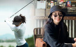 Tiểu thư 2k2 nhà Diva Mỹ Linh bước chân vào hội mê golf, tiết lộ nhờ vậy mà thân với bố hơn