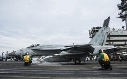 Nhóm tác chiến tàu sân bay Mỹ USS Ronald Reagan trở lại biển Đông