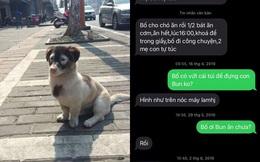 Đọc tin nhắn từ 2017, con phát hiện chỉ khi hỏi về chú chó cưng ở nhà, bố mới hồi đáp