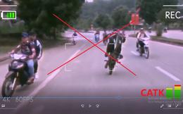20 học sinh cấp 3 tập trung đua xe, bốc đầu trên đường mòn Hồ Chí Minh