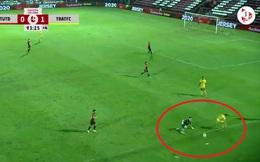 Văn Lâm rầu rĩ vào lưới nhặt bóng, chấp nhận kết cục đáng buồn ngay sân nhà