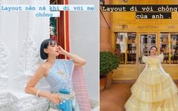 Gái đẹp Việt lấy đại gia Thái Lan tự bóc outfit lúc đi với mẹ chồng và khi là 'em bé' của anh