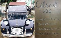 Đấu giá xe Citroel cổ của NSND Út Trà Ôn, ủng hộ đồng bào lũ lụt miền Trung
