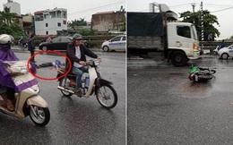 2 xe máy đối đầu, tài xế Grabbike tử vong