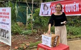 Cô gái 23 tuổi mở tiệm hớt tóc, dành toàn bộ tiền ủng hộ người dân vùng lũ