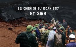 Sạt lở vùi lấp 22 quân nhân: Lời hứa xong chiến dịch sẽ về với vợ con của người quân nhân dũng cảm