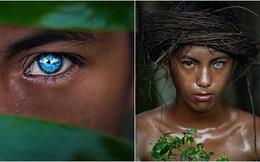 Kỳ lạ tộc người hiếm hoi sở hữu màu mắt xanh như biển cả