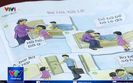 Mẩu chuyện tập đọc trong sách giáo khoa lớp 1 gây tranh cãi: Bé Hà bị ho nhưng bà... mặc kệ, bà bế bé Lê