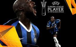 """Cựu """"danh hài"""" Lukaku đoạt giải Cầu thủ hay nhất Europa League, nhận số điểm gấp đôi tân binh sao sáng của MU"""