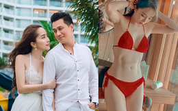 """Quỳnh Nga tung ảnh """"nóng"""", chính thức lên tiếng chuyện tình cảm với Việt Anh"""
