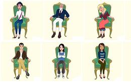 Trắc nghiệm khả năng 'nhìn người': Theo bạn, nhà lãnh đạo sẽ ngồi ghế tựa lưng ở tư thế nào?