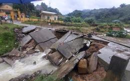 9 hộ gia đình và 40 chiến sĩ phải di dời khẩn cấp vì sạt lở núi