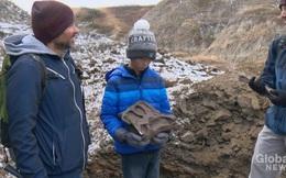 """Đi dã ngoại, cậu bé 12 tuổi tìm ra hóa thạch """"quái thú"""" 69 triệu tuổi"""