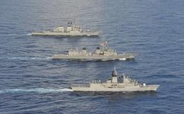 Mỹ, Nhật, Úc tập trận rầm rộ tại biển Đông