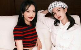 """Khoảnh khắc hiếm 2 nữ thần Kim Ưng chung khung hình: Victoria bị Lưu Thi Thi """"đè bẹp"""" cả về nhan sắc lẫn thần thái?"""