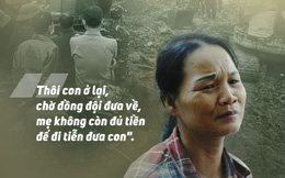 Lục hết túi không có nổi 100 nghìn, mẹ chiến sĩ Đoàn 337 ngậm ngùi: 'Mẹ không còn đủ tiền để đi đón con'