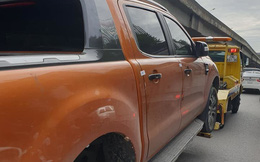 Chiếc ô tô bị ngân hàng siết nợ kéo đi trên đường và câu nói khiến nhiều người bừng tỉnh