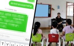 Không tặng quà cho cô giáo, bà mẹ nhận ngay tin nhắn 'kém duyên' trong nhóm chat chung của cô và các phụ huynh