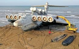 """""""Quái vật biển Caspian"""", kỳ quan công nghệ quân sự Liên Xô, đang trỗi dậy từ nấm mồ"""