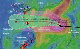 Bão số 8 hướng vào Hà Tĩnh - Thừa Thiên Huế, quân đội ứng trực hơn 250.000 quân