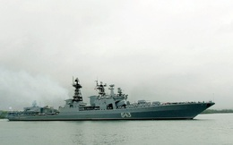 Chiến hạm hải quân Nga 'được trang bị tận răng' với hàng loạt vũ khí mới