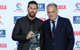"""Sốt sắng giữ Messi, sếp lớn của La Liga """"hù dọa"""" siêu sao xứ Tango"""