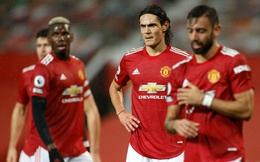 """Cavani lần đầu xuất trận, Man United bị Chelsea cầm chân để """"chết dí"""" nơi cuối bảng"""