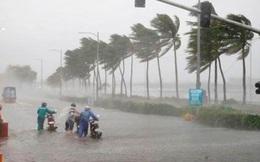 Tâm bão số 8 cách đất liền các tỉnh từ Hà Tĩnh đến Quảng Trị khoảng 330km