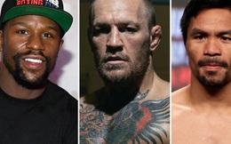 Floyd Mayweather đánh giá thấp khả năng kiếm tiền của trận McGregor vs Pacquiao, thừa nhận đang thương thảo thượng đài cùng UFC