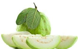 8 tác dụng tuyệt vời với sức khỏe của trái ổi