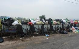Người dân chặn đường vào bãi rác Nam Sơn, vì sao?