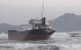 Hút 10.000 lít dầu trên tàu hàng bị nạn ở vùng biển Bình Định