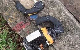 Dùng đoản bẻ khóa xe SH, tên trộm dùng bình xịt hơi cay tấn công cảnh sát hình sự khi bị truy đuổi ở Sài Gòn