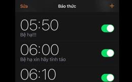 """Tin xấu cho các """"bậc thầy ngủ nướng"""": Đặt báo thức cách nhau 5 - 10 phút sẽ khiến bạn hối hận!"""