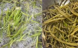 """Loại rau """"rẻ bèo"""" ở Việt Nam nhưng sang Hàn Quốc phải bỏ tận 300k mới đủ ăn 1 bữa, cách chế biến cũng vô cùng khác biệt"""