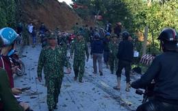 SẠT LỞ Ở QUẢNG NAM: Hiện nay đã tìm thấy 16 thi thể, công binh bắt đầu tiếp cận thông tuyến đường vào Trà Leng