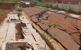 Công trình 'nghìn tỷ' ở Đắk Nông 5 lần sụt lún nghiêm trọng