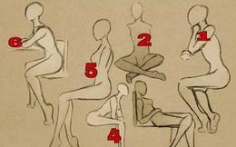 Đâu là tư thế ngồi của bạn? - Số 3 là tư thế nhà lãnh đạo tương lai