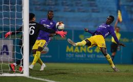 """TRỰC TIẾP Viettel 0-0 Hà Nội FC: Ngoại binh Hà Nội FC lập... """"hat-trick bỏ lỡ"""""""