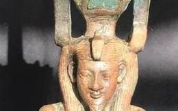 Ai Cập khai quật tượng của Thần Nefertum tại vùng Saqqara