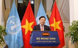 Thông điệp của Phó Thủ tướng, Bộ trưởng Ngoại giao Phạm Bình Minh gửi Phiên họp cấp cao LHQ