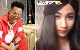 Bà xã Rhymastic đăng ảnh chồng giả gái, nhan sắc này đủ lên tầm mỹ nhân Rap Việt chưa?