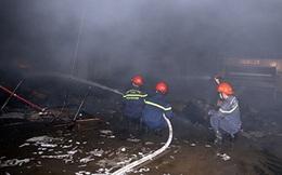Cháy lớn tại Công ty Bao bì Fushan, thiệt hại ước tính hàng chục tỷ đồng