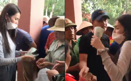 Vụ Thủy Tiên trao tiền từ thiện ở Quảng Bình, cán bộ đến từng nhà thu lại: Yêu cầu trả lại tiền cho người dân