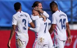 """Ngôi sao """"mất tích"""" bất ngờ lập siêu phẩm, Real Madrid giành chiến thắng đậm đà"""