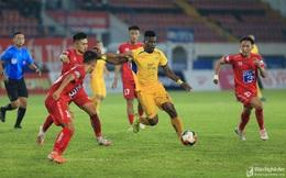 Ngoại binh SLNA thiết lập 'kỷ lục buồn' sau lượt đi V.League 2020